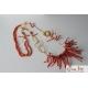 Collana, corallo rosso
